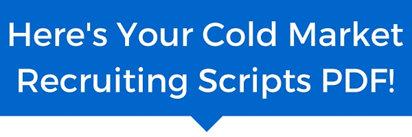 Here's Your Cold MarketRecruiting PDF!